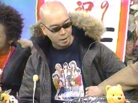 宇多丸 モー娘。Tシャツ 2001年 ライムスターいいとも初出演