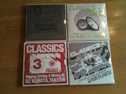 クボタタケシ CLASSICS 1-4 mixtapeがJet Set recordsから届いた!