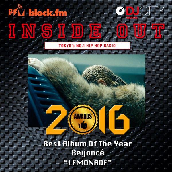Best Album of The Year Lemonade