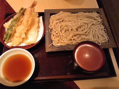 いわもとQ 天ぷらセット