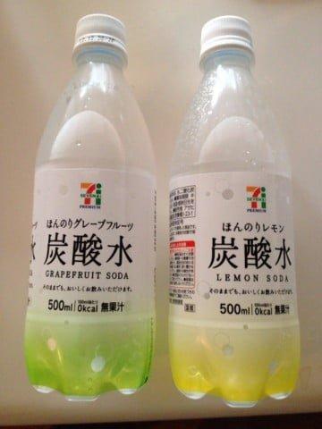 セブンイレブン ほんのりグレープフルーツ・レモン炭酸水がウマイ!