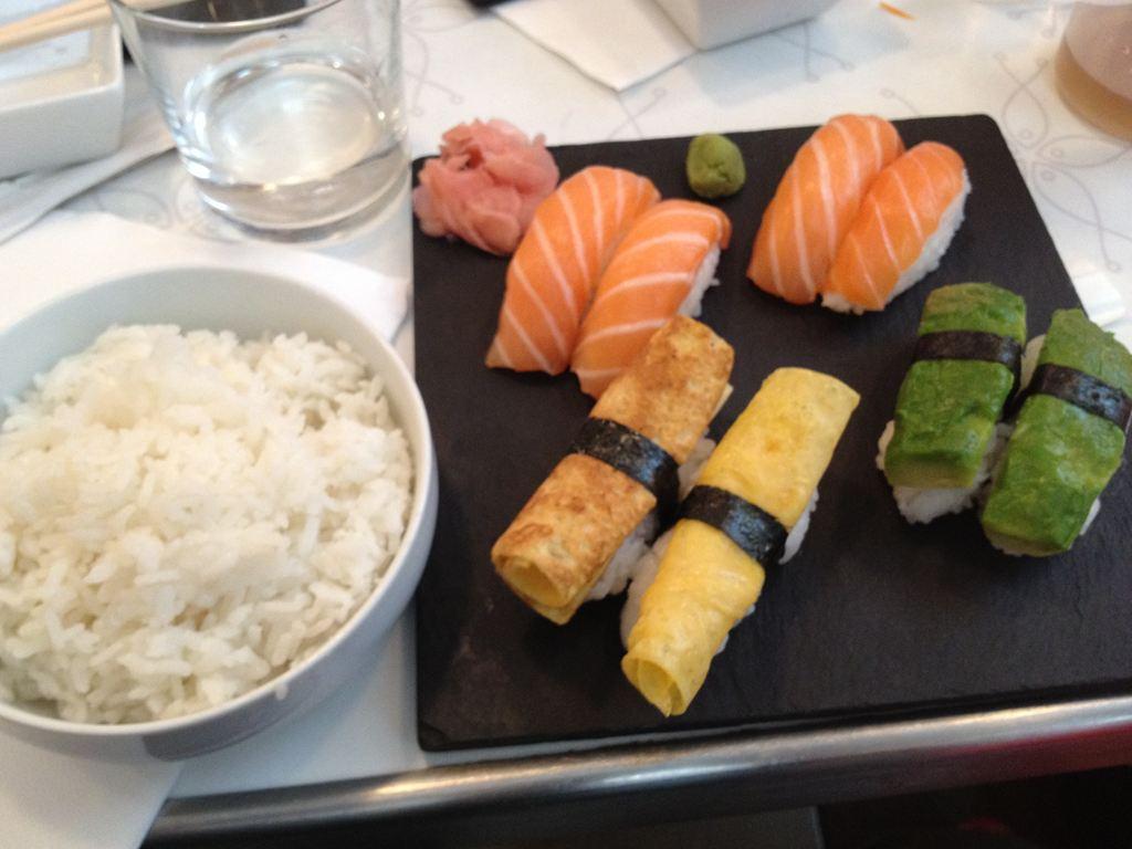 フランス パリ サンジェルマンでお寿司を食べてきた