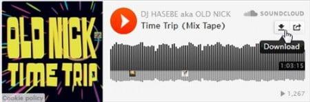 DJ HASEBE 2008年制作MIX Time Trip 期間限定ダウンロード
