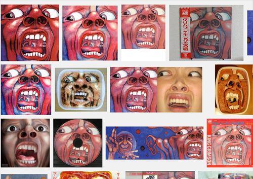 Google画像検索『クリムゾンキングの宮殿』