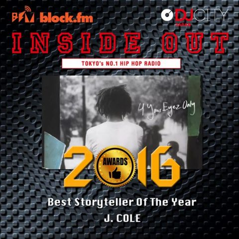 Best Story Teller of The Year J.Cole