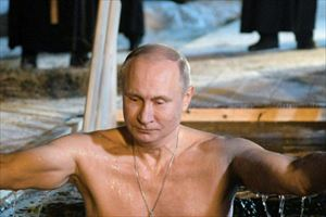 プチ鹿島・玉袋筋太郎 プーチンが裸で氷点下の湖に入る意味を語る