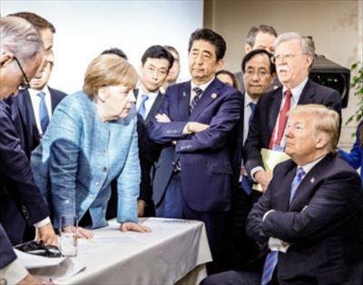 プチ鹿島 G7サミット 各国首脳写真を比較する