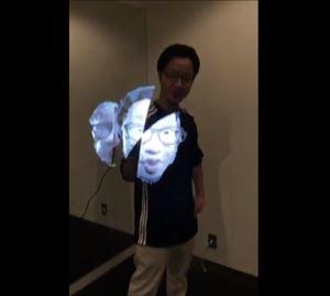 PUNPEE ライブで使うホログラム・3DCG機材を語る