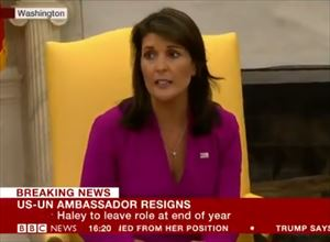 モーリー・ロバートソン ニッキー・ヘイリー国連大使の電撃辞任を語る