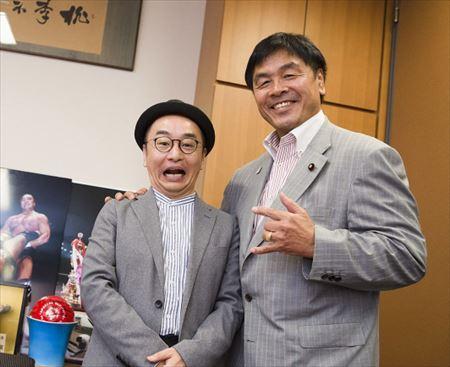 プチ鹿島 東京五輪招致・JOC竹田会長疑惑と議員・馳浩を語る