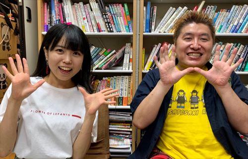 吉田豪と里咲りさ 少女閣下のインターナショナルを語る