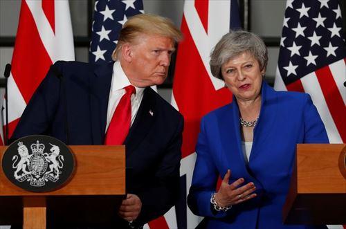 モーリー・ロバートソン ドナルド・トランプ大統領のイギリス訪問を語る