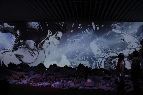 諫山創と宇多丸『進撃の巨人展FINAL』を語る