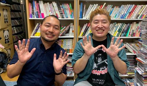吉田豪と山田昌治 アイドル楽曲のサブスクリプション対応を語る