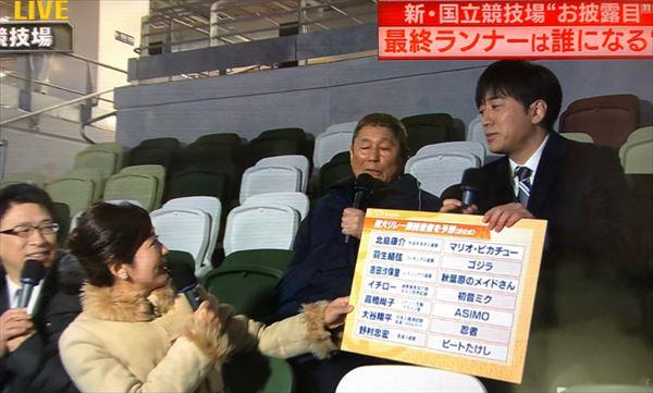 安住紳一郎 新国立競技場お披露目イベント生中継を語る