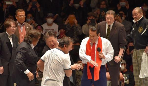 プチ鹿島 アントニオ猪木のデビュー60周年セレモニー・闘魂ビンタ注入を語る