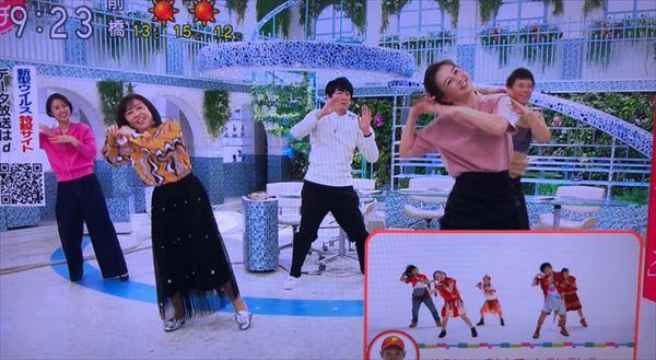 博多大吉 NHK『あさイチ』での『パプリカ』ダンスを語る