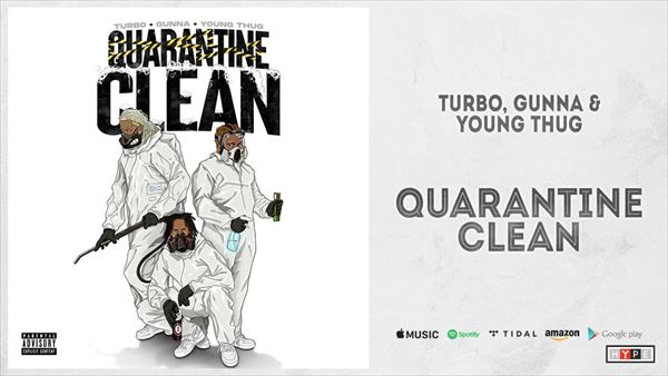 渡辺志保 Turbo, Gunna&Young Thug『Quarantine Clean』を語る