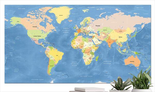 小袋成彬 巨大な世界地図を買って考えたことを語る