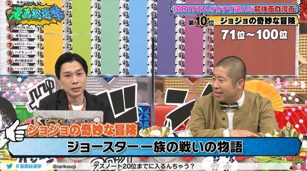 ハライチと三四郎『ジョジョの奇妙な冒険』を語る