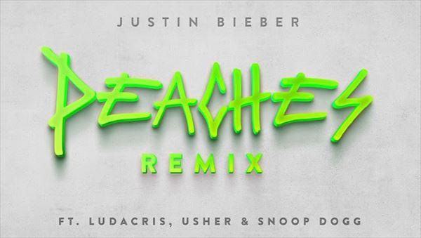 渡辺志保 Justin Bieber『Peaches Remix ft. Ludacris, Usher & Snoop Dogg』を語る